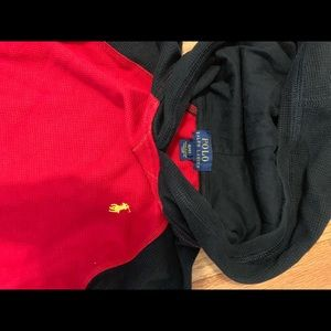 Thermal Hoodie Polo shirt